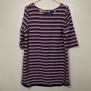 Gap Shift Dress Red White & Blue 4th of July